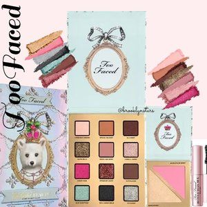 Too Faced Enchanted Beauty Unbearably Glam Makeup